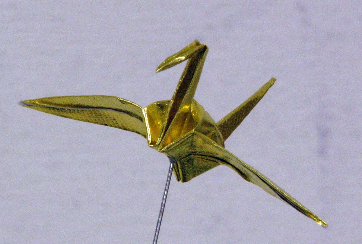 折鶴2(金色)