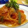 スパゲッティじゃダメなの?ナポリタンパスタのフリー写真