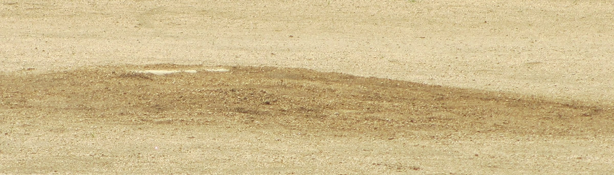 ピッチャーマウンドの写真20150617-03