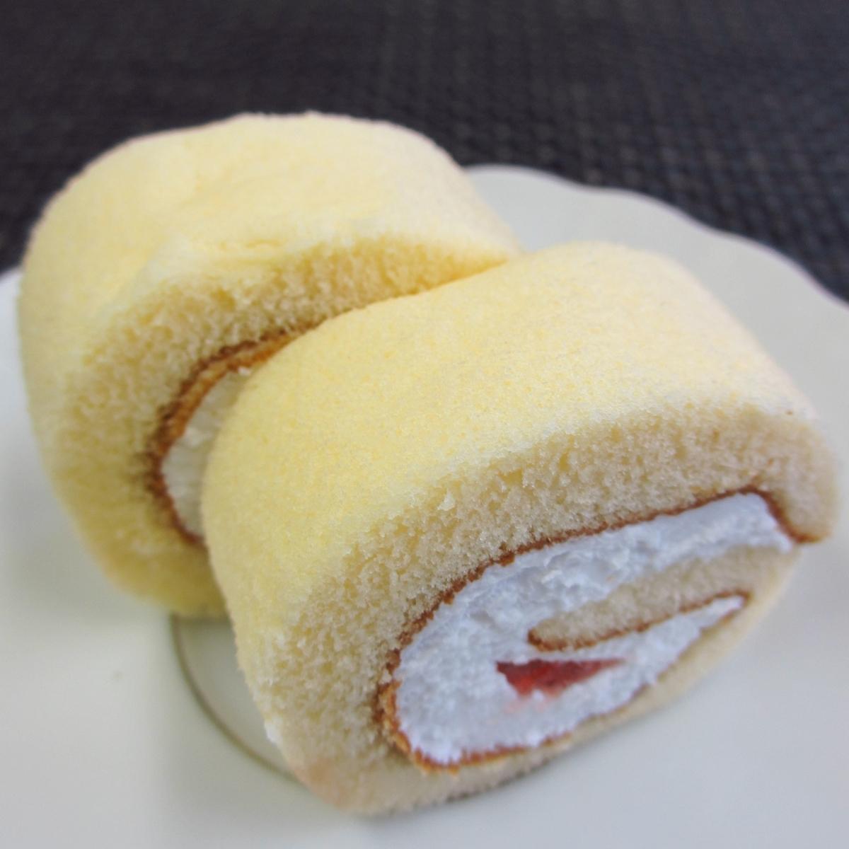 イチゴのロールケーキ20150627 (3)