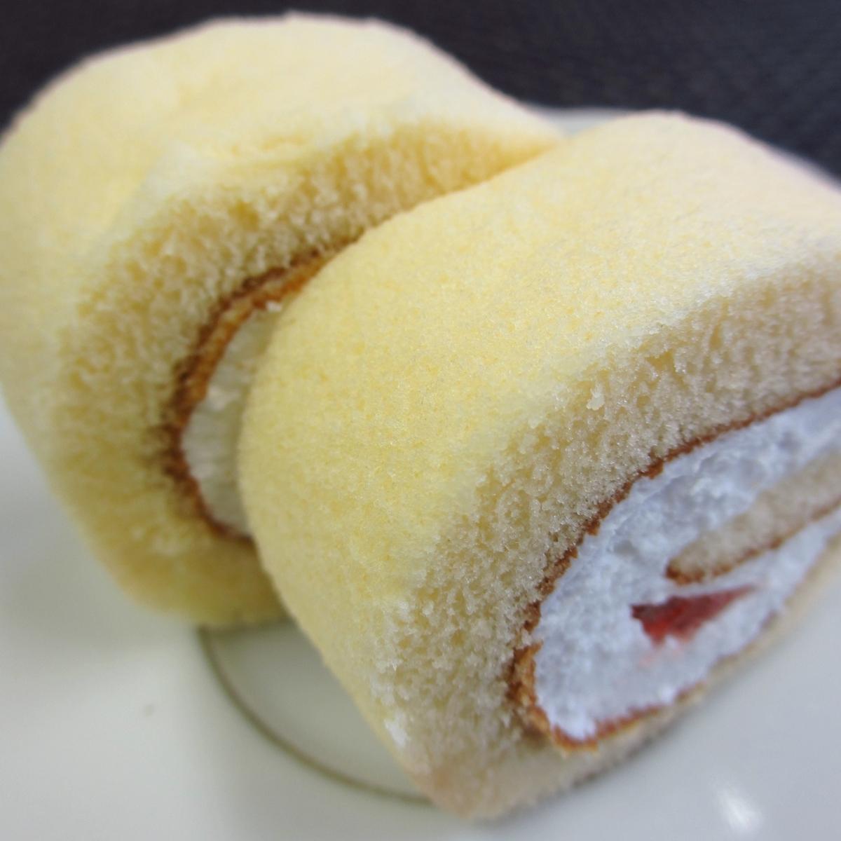 イチゴのロールケーキ20150627 (5)