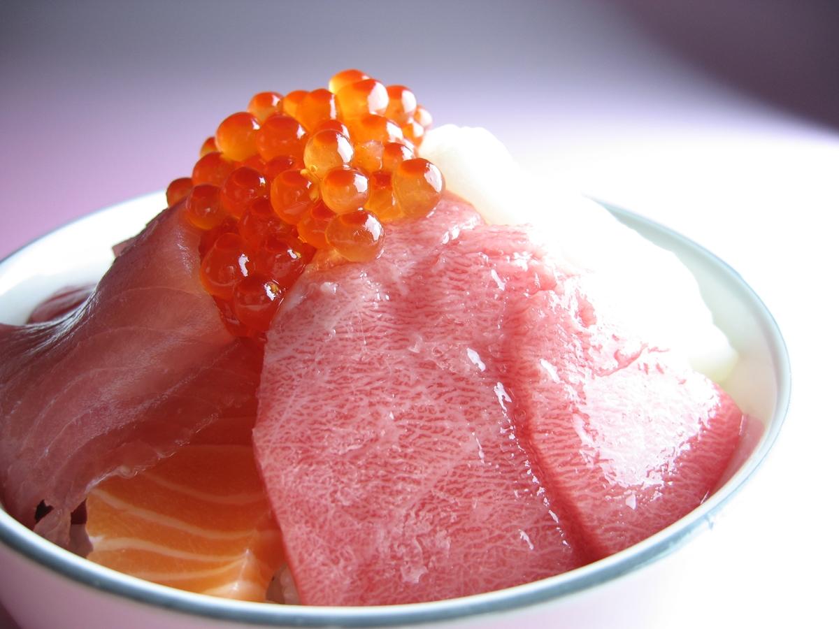 海鮮丼 (1)