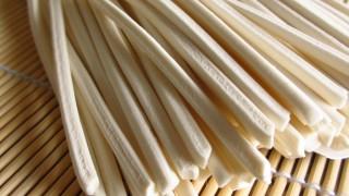 半生うどん(半生麺)のフリー写真