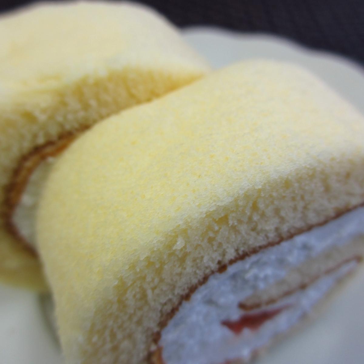 イチゴのロールケーキ20150627 (7)