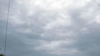 雨が降ったり止んだり・・・2015年6月26日(金)の空の写真