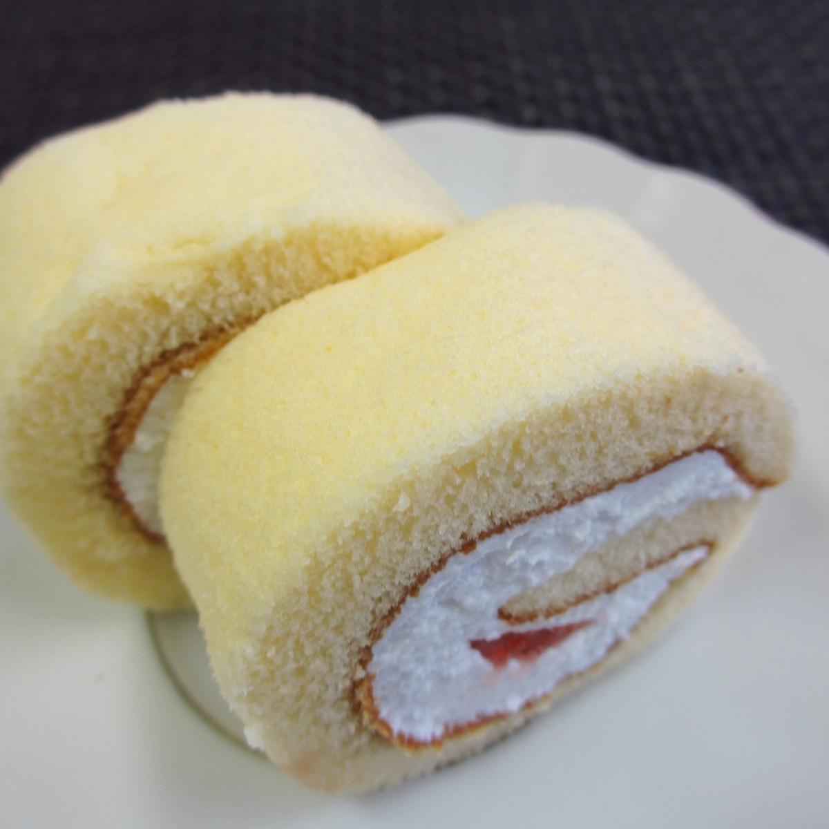 イチゴのロールケーキ20150627 (6)