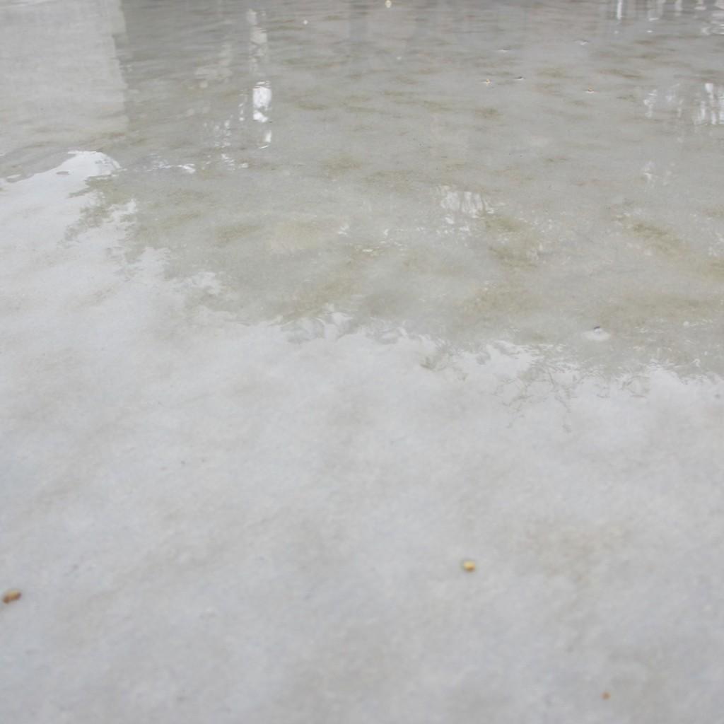 雨の日のコンクリート20150626
