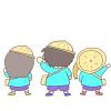 2015年上半期版!幼稚園生の日常フリーイラスト16枚