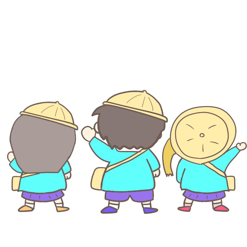 入園式 ワンピース風(カラー)