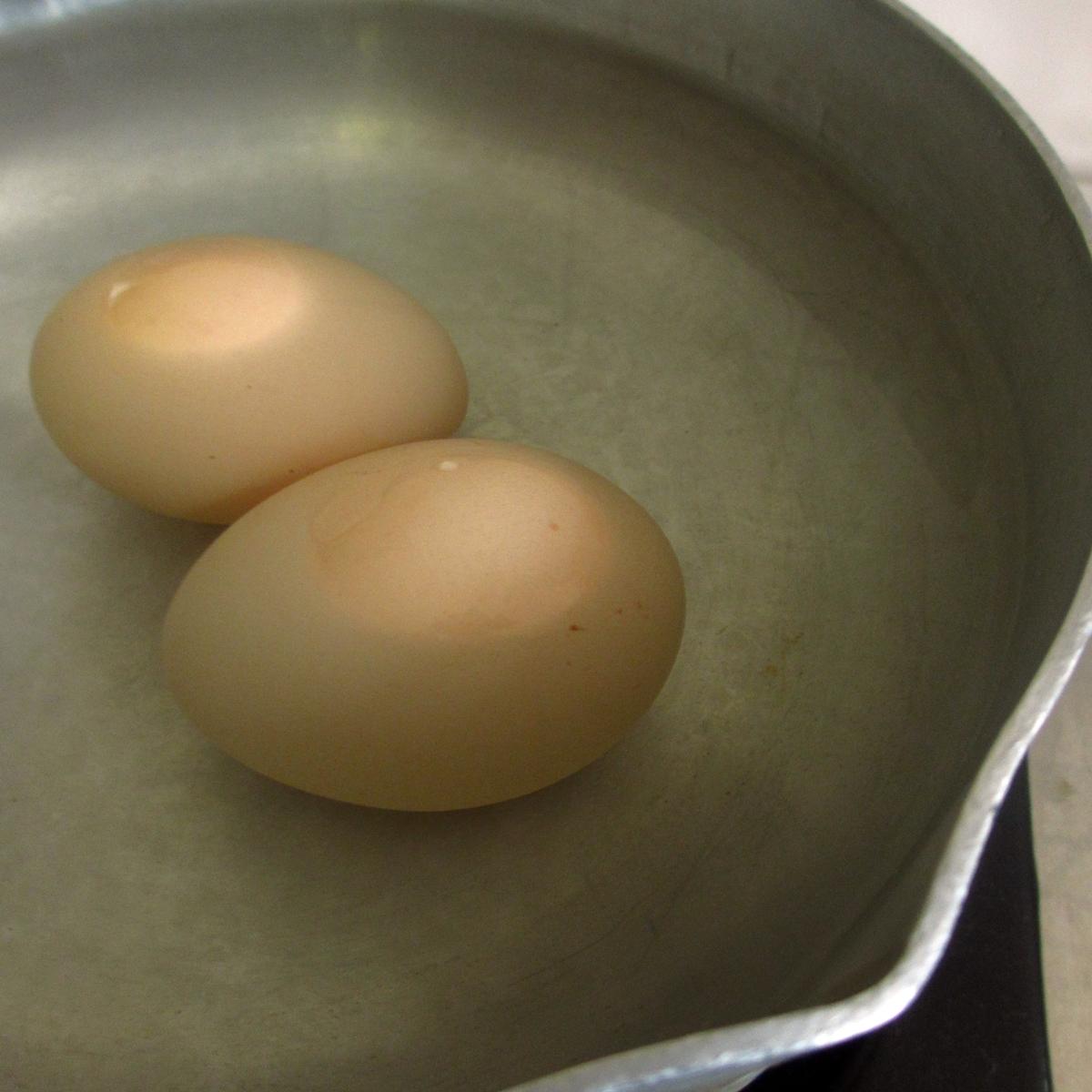 ゆで卵調理中20150704 (3)