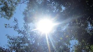 今日も快晴&暑い!2015年7月10日(金)の空の写真