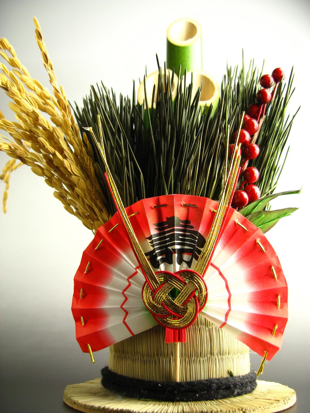 正月松飾り20061230 (4)