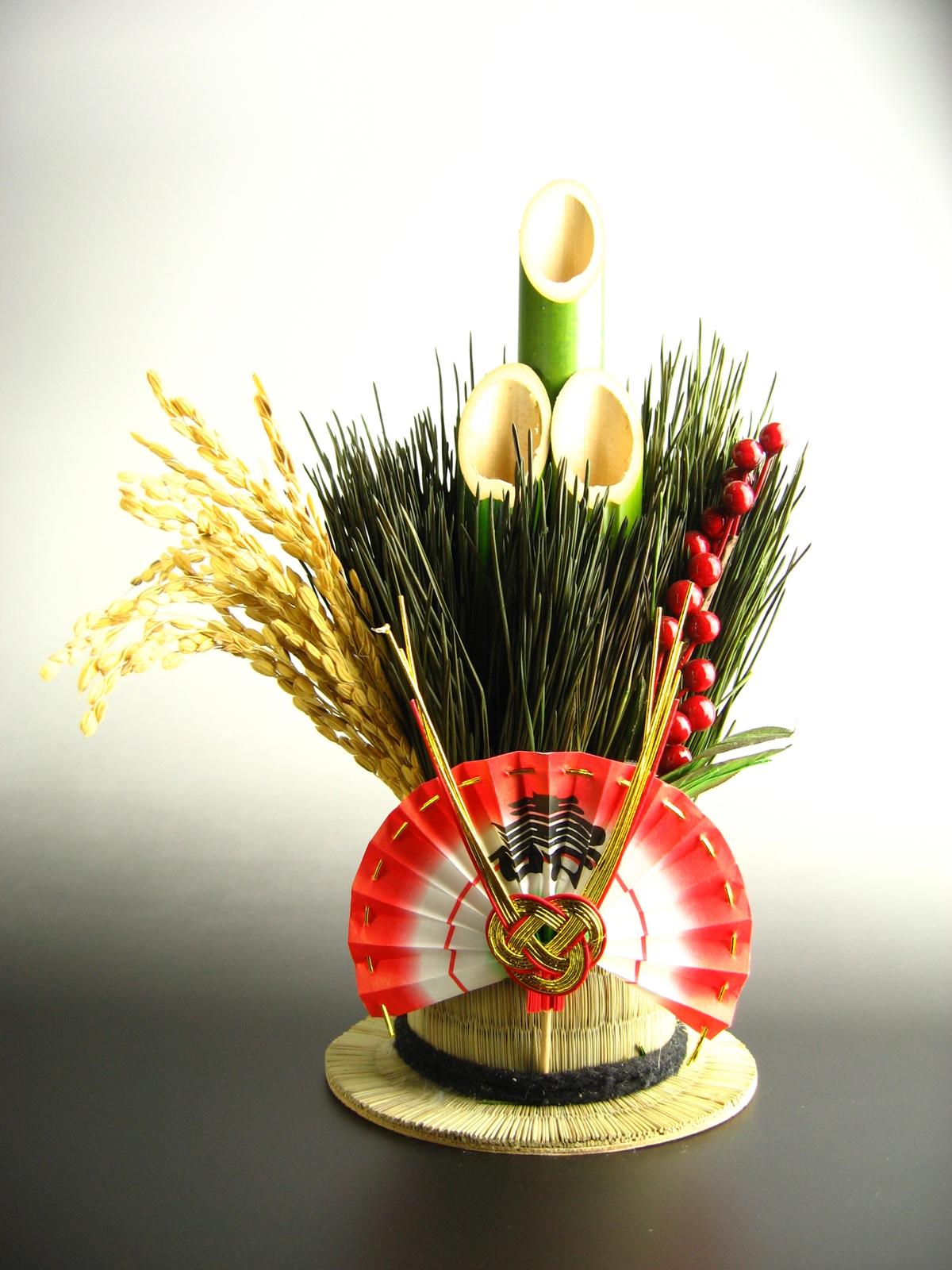 正月松飾り20061230 (3)