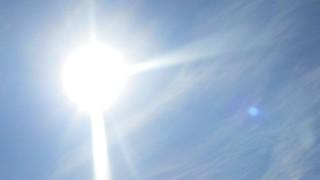 今日は快晴!2015年7月9日(木)の空の写真