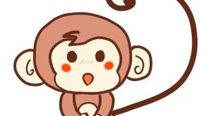 メッチャ簡単な猿(サル)のイラストの書き方